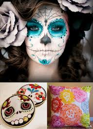 day of the dead and face paint google search