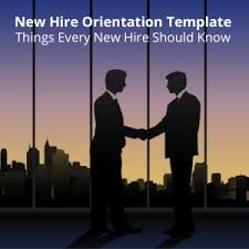 New Employee Orientation And Onboarding Template