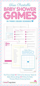 Affordable Baby Shower Games