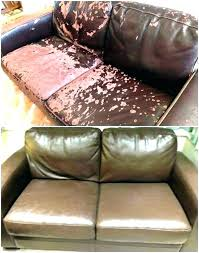 re leather sofa with shoe polish colour fix faux couch ling how to couches repair bonded