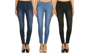Up To 58 Off On Jvini Jeggings 3 Pk Groupon Goods