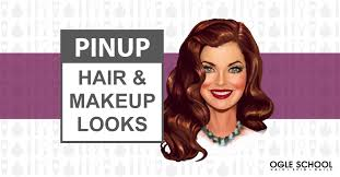 pin up hair makeup looks