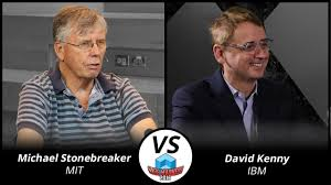 First Round David Kenny Vs Michael Stonebraker