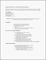Resume Samples For College Student Luxury Resumes For College Delectable Working Student Resume Sample