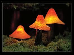 mushroom solar lights garden how to sculpted mushroom lights from stone manor lighting
