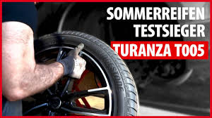 #SOMMERREIFEN ABC: Testsieger <b>Bridgestone Turanza T005</b> ...