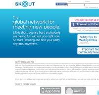 skout login with gmail
