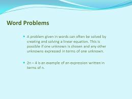 8 word problems