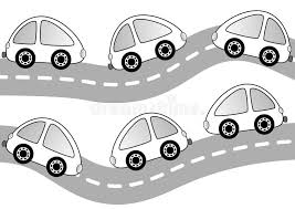 Small Picture Cars On The Road Coloring Page Stock Photo Image 38289550