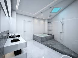 recessed lighting bathroom. Recessed Lighting Bath With Small Creamic Bathub Single Iron Shower White Ceramic Floor Bathroom M