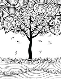 Fall Coloring Pages Printable Free Fall Coloring Pages For Adults