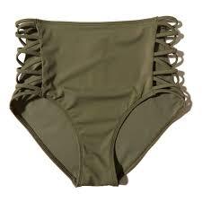 Hollister Bathing Suit Size Chart Hollister Strappy High Waist Bikini Bottom 25 Liked On