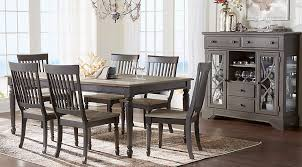 dining room gray. cindy crawford home ocean grove gray 5 pc dining room sets colors n