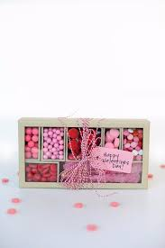 best diy valentines day gifts pink and red candy box cute mason jar valentines