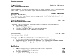Coaching Resume Template Coaching Resume Breathtaking Template Bunch Ideas Of Samplever 53