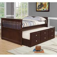 full size captains bed with storage. Brilliant Size Belfield Full Captain Bed With Trundle Intended Size Captains With Storage