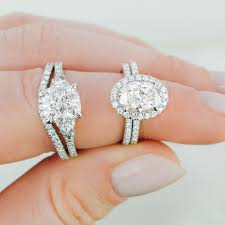 Ring Designs With Multiple Stones Engagement Rings With Side Stones Brilliant Earth
