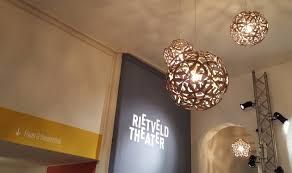 Entrance Lighting In The Rietveld Theatre Lampshapers