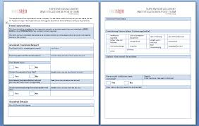 Form For Accident Incident Report These Sample Accident Report Forms Are Free To Use And Share