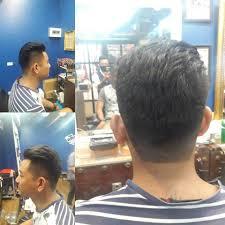 Asian Men High Fade เปดขาง Undercut Barber Shop