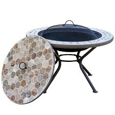 Full Size of Fire Pits Design:magnificent Wondroud Stained Glass Tile  Mosaic Plant Pots With ...