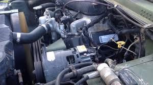 1994 m998a1 humvee 6 5l engine starting