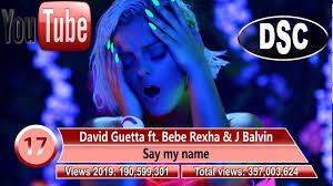 Top Charts Music Videos Youtube Most Viewed Music Videos In 2019 Dsc Top Music
