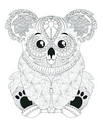 Printable Coloring Pages For Adults Animals At Getdrawingscom