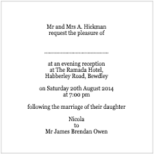 invitation wording for reception only samples Wedding Invitation For Reception Only Wording Examples evening wording in the wedding invitation packets Post Wedding Reception Invitation Wording