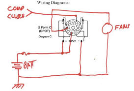 rear a c condenser fan relay wiring diagram pelican parts 11 Pin Octal Relay Wiring Diagram not that i think this (fans relay etc ) is a good idea, just trying to help 8 Pin Relay Base Schematic