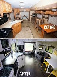 remodel furniture. fine remodel see tips and photos from five gorgeous fifth wheel remodels rv renovations  include upgrades modifications to cabinets walls furniture flooring for remodel furniture