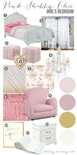 Shabby Chic Childrens Bedroom Furniture Mood Board A Pink Shabby Chic Girls Bedroom Design Little Cs
