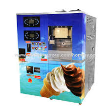 Self Serve Ice Vending Machines Near Me Adorable Coin Operated Ice Cream Vending Machine Selfservice Counter