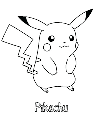coloring pages pikachu coloring sheets sheet pages free printable pokemon go