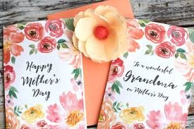 Pretty Printable Mothers Day Cards Designed By Lia Griffith