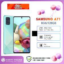 Điện Thoại Samsung Galaxy A71 ROM 128GB RAM 8GB - Hàng chính hãng, Nguyên  seal, mới 100%, Bảo hành 12 tháng chính hãng