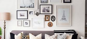 home decorating professional photo collage wall have
