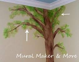 how to paint a simple tree mural tutorial i need to do this in the awkward corner of my laundry room