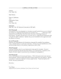 Cover Letter Examples Don T Know Name Adriangatton Com