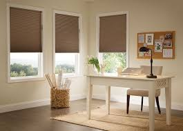 office drapes. Budget Blinds Privacy Cellular Shades Office Drapes