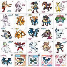Pokemon Mega Evolution Pan Stickers – Venusaur, Charizard, Blastoise,  Absol, Ampharos, Gardevoir, Blaziken, Lucario, Garchomp, etc – Splash's Pan  Sticker Shop