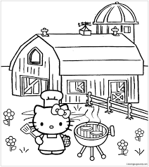 Facebook is showing information to help you better understand the purpose of a page. Hello Kitty Cooking 1 Coloring Pages Cartoons Coloring Pages Free Printable Coloring Pages Online