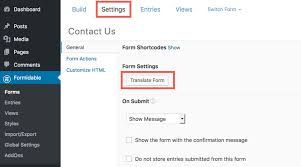 How to translate Formidable Forms with WPML - WPML