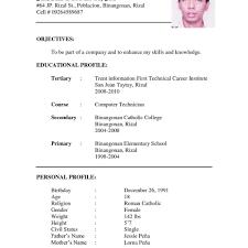 Resume Template New Model Formal Letter Sample Format For Teachers