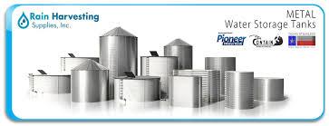 metal water storage tanks