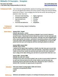 Midwife Resume Sample Midwife Cv Example And Template Birth Midwifery Sample Resume
