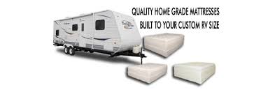 rv size rv camper and travel trailer mattress sizes available