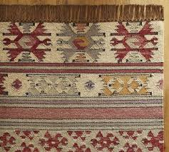 nisa stripe kilim rug pottery barn rug thoughts pottery barn isaac kilim rug