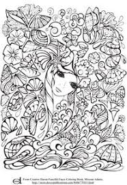 photo coloring page.  Coloring Adult Coloring Pages  Mermaid And Photo Page N