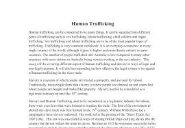 human trafficking in this essay will be covering  document image preview